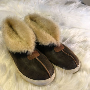 UGG Fur High Top Fur Sneakers